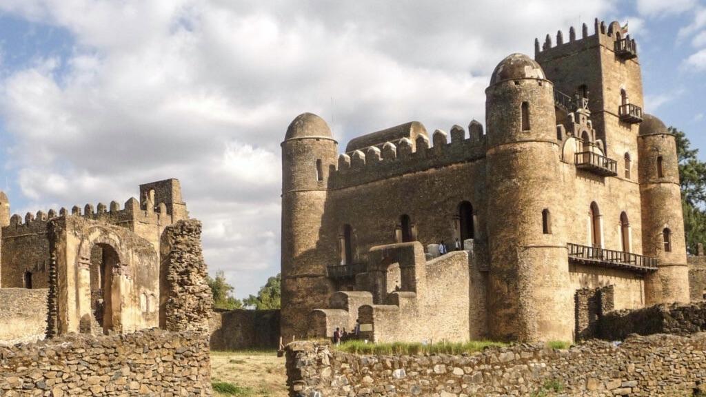50 plus reizen met de kastelen van Gondar 1