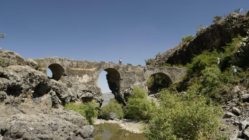 Dag 3:  Wandeling naar de Portugese brug