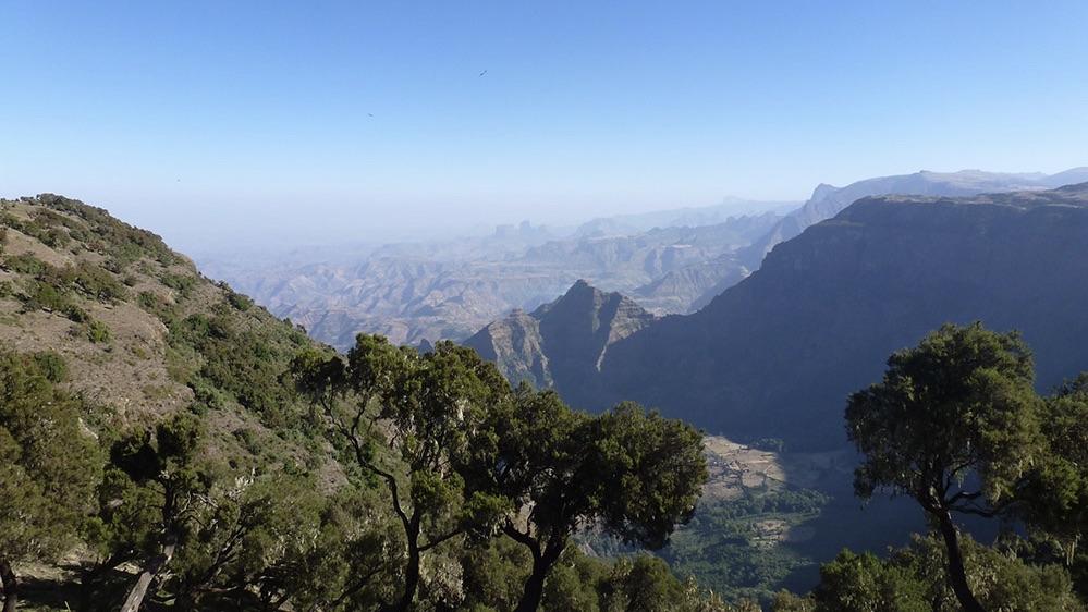 Dag 9A: Dwars door een prachtig berglandschap