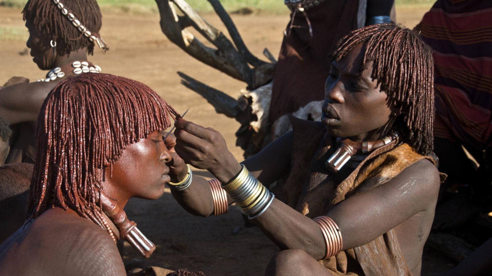 De Omo vallei met zijn vele stammen in Zuid Ethiopië