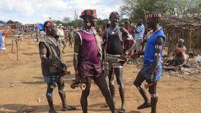 De stammen in zuid Ethiopie