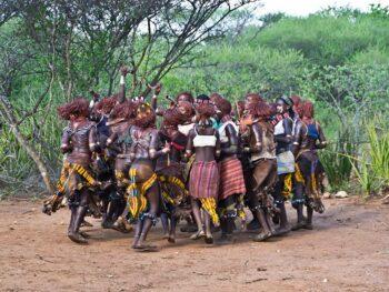 De stammen in de Omo vallei 3